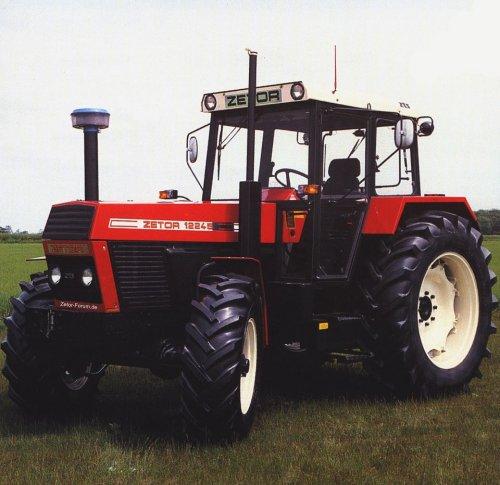 Zetor 12245 van prototype