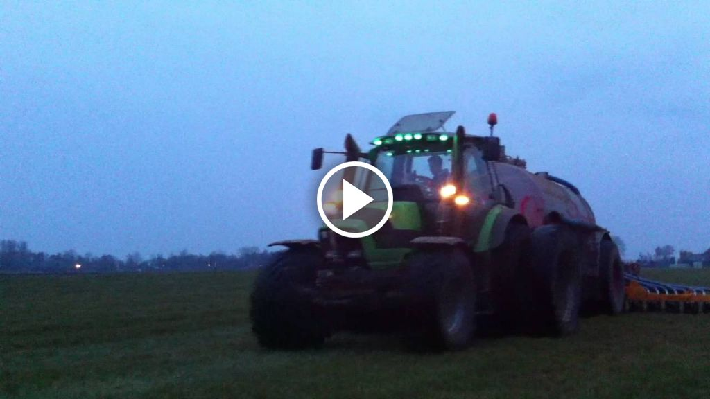 Video Deutz-Fahr Agrotron M 600