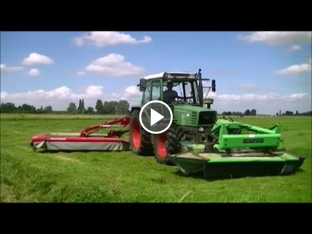 Wideo Fendt 308 Econ