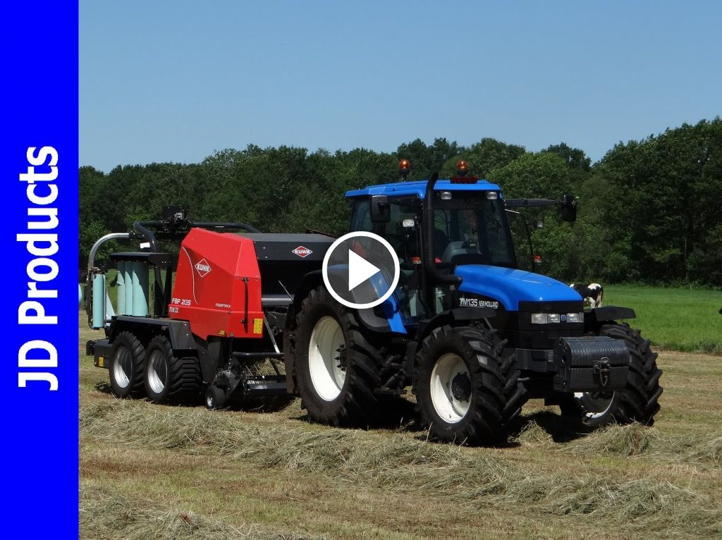 Video New Holland TM 135