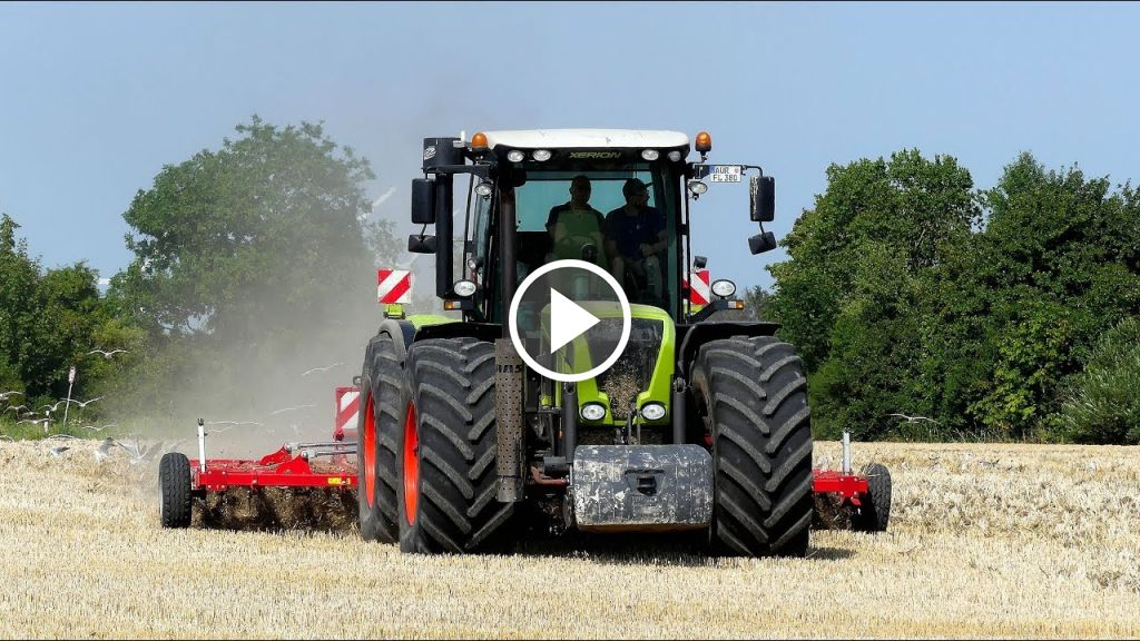 Vídeo Claas Xerion 3800 TRAC