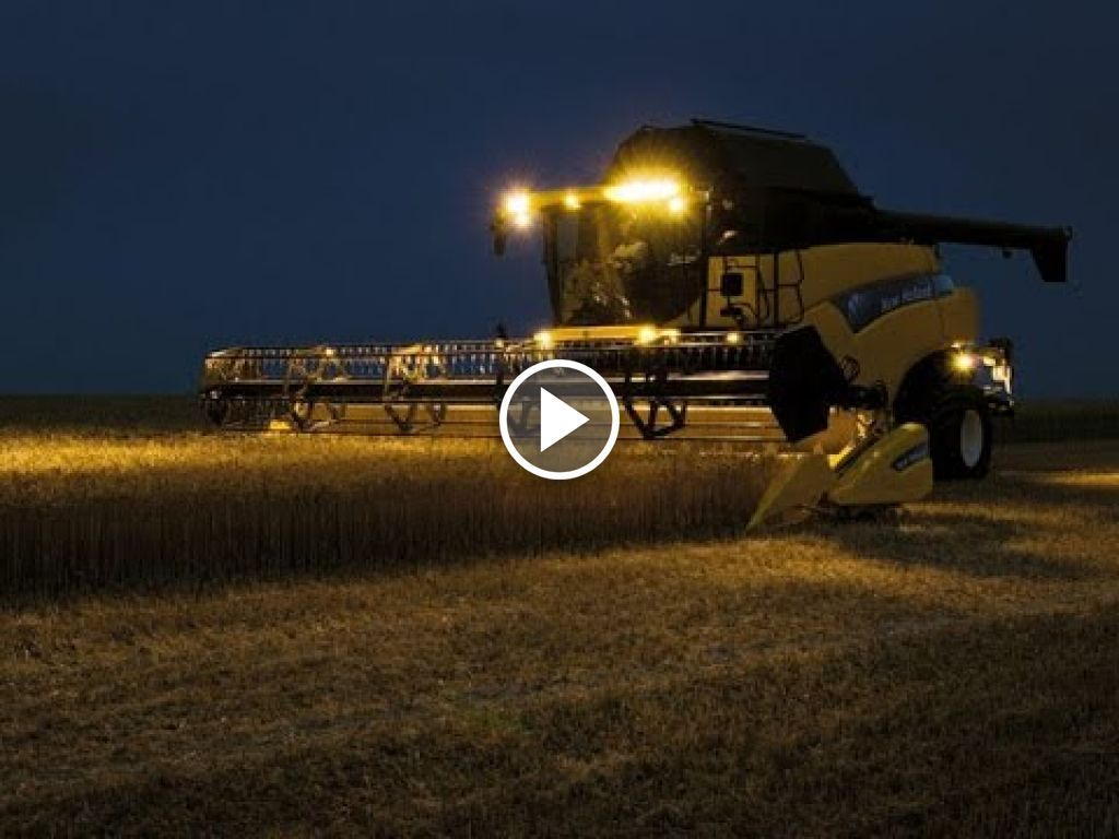 Video New Holland CR 9080