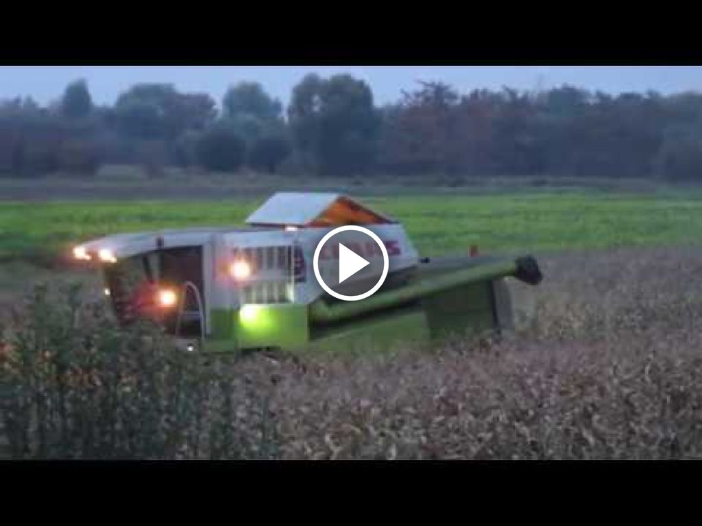 Video Claas Mega 350