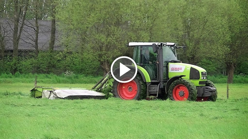Video Claas Ares 556 RZ