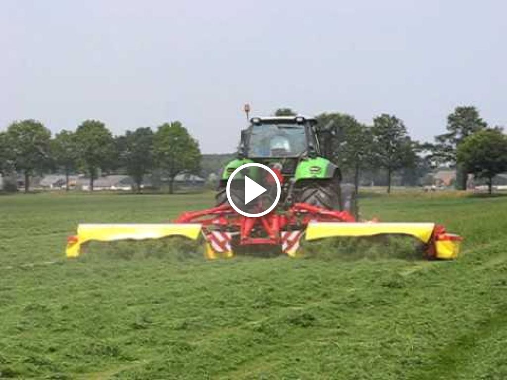 Video Deutz-Fahr Agrotron X 720