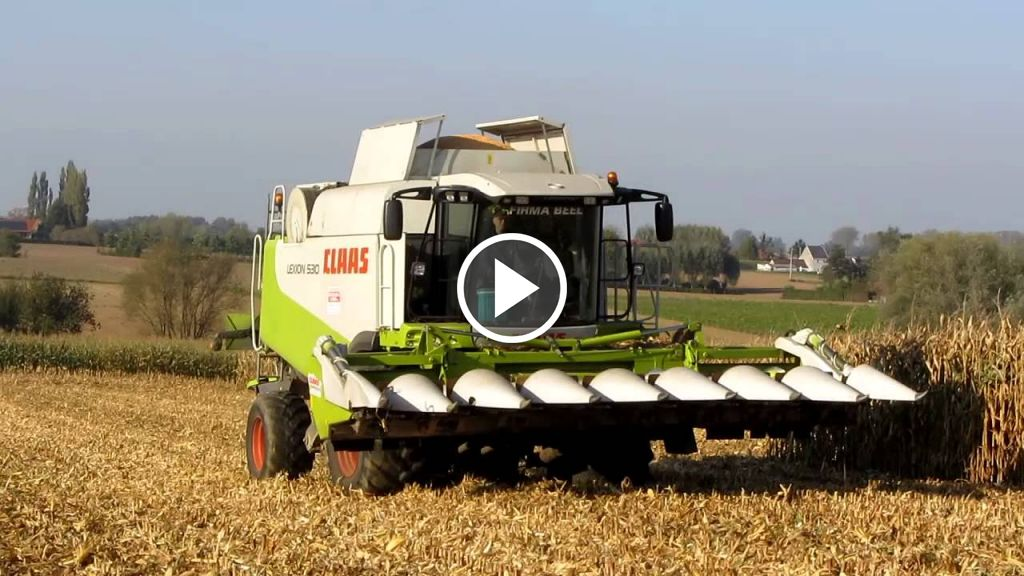 Video Claas Lexion 530