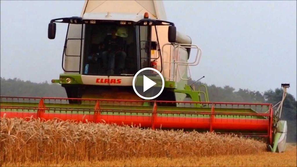 Video Claas Lexion 580