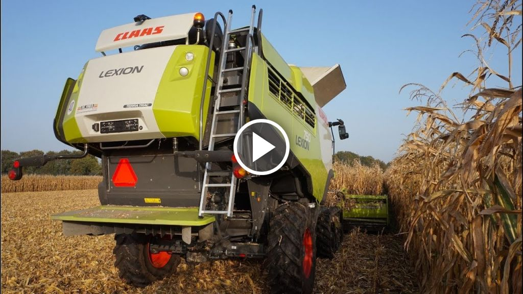 Video Claas Lexion 750