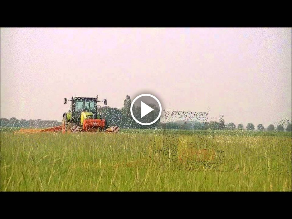 Video Claas Ares 567 ATZ