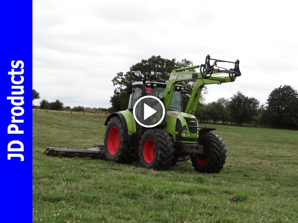 Video Claas Arion 620
