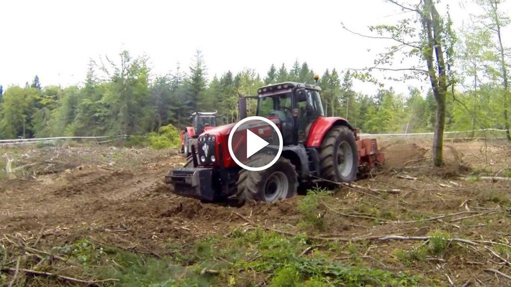 Vidéo Massey Ferguson 8670