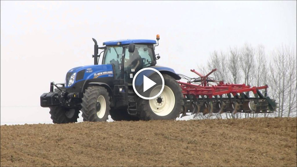 Video New Holland T 7.200