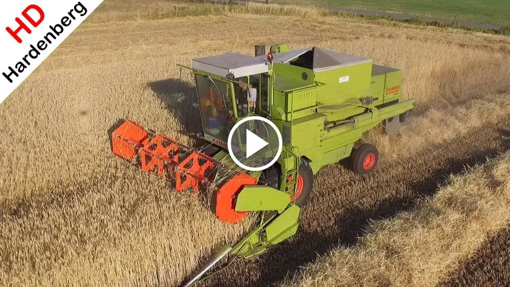 Video Claas Dominator 85