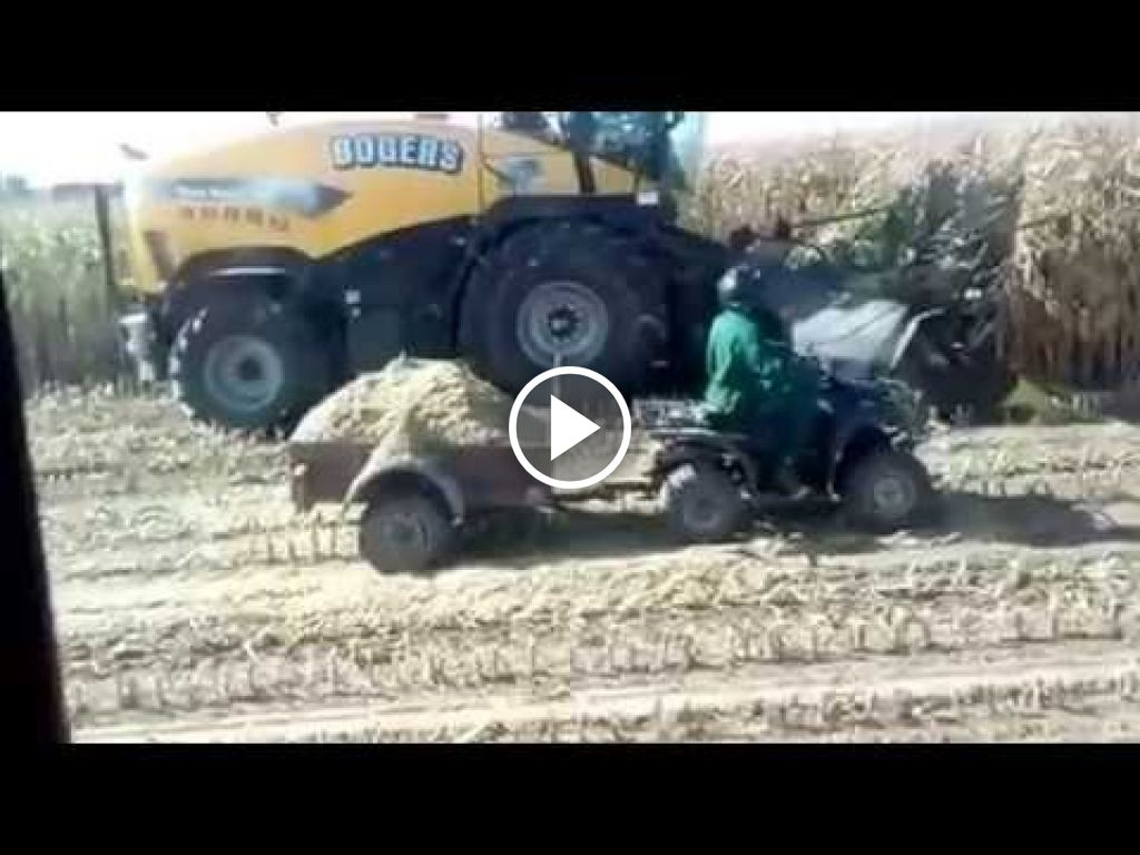 Video New Holland FR 9060