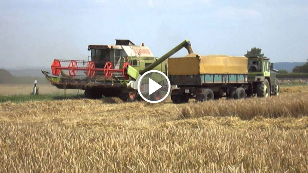 Video Claas Dominator 108