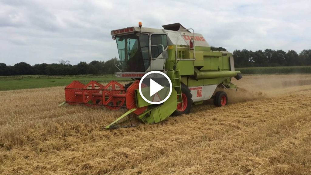 Video Claas Dominator 88S