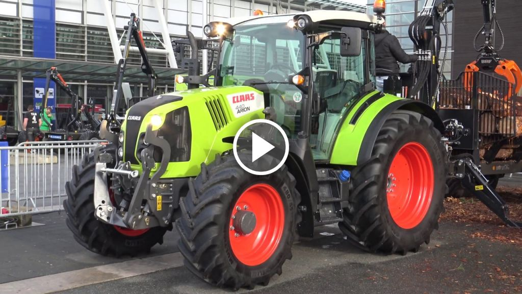 Video Claas Arion 440