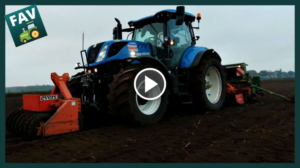 Video New Holland T 7.245