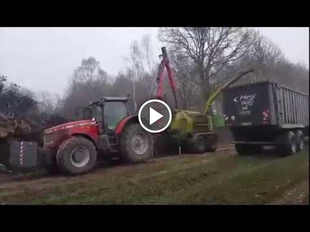 Vidéo Massey Ferguson 8660