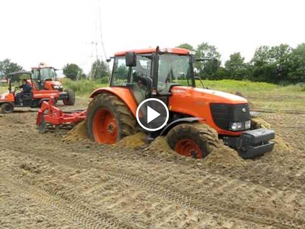 Video Kubota M128X