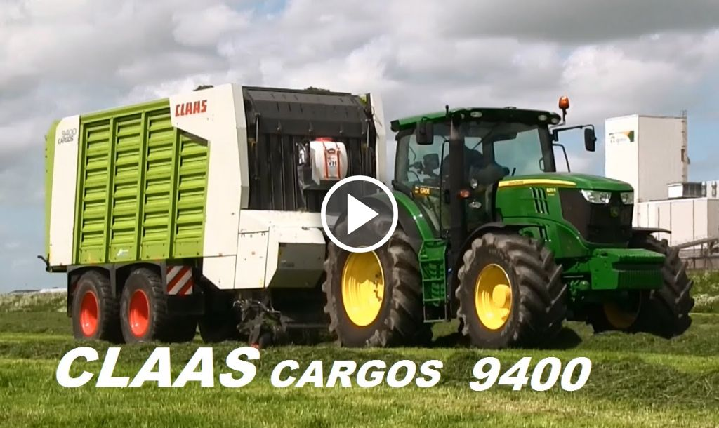 Video Claas Cargos 9400