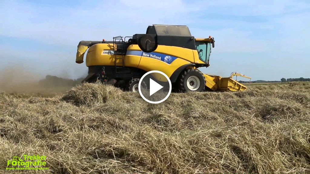 Video New Holland CX 8040