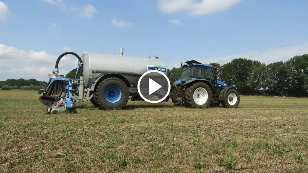 Video New Holland TS 90