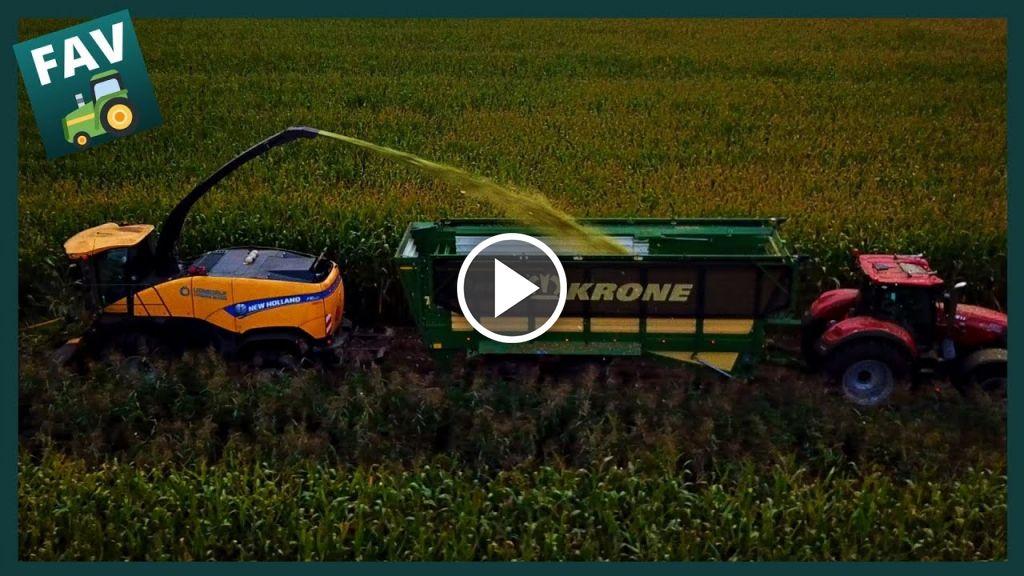 Vidéo New Holland FR 500