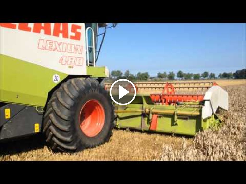 Video Claas Lexion 480