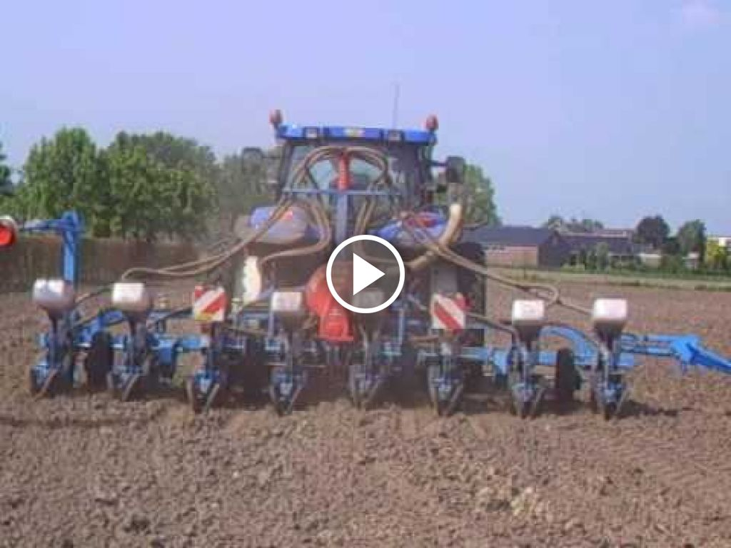 Video New Holland TS 135 A