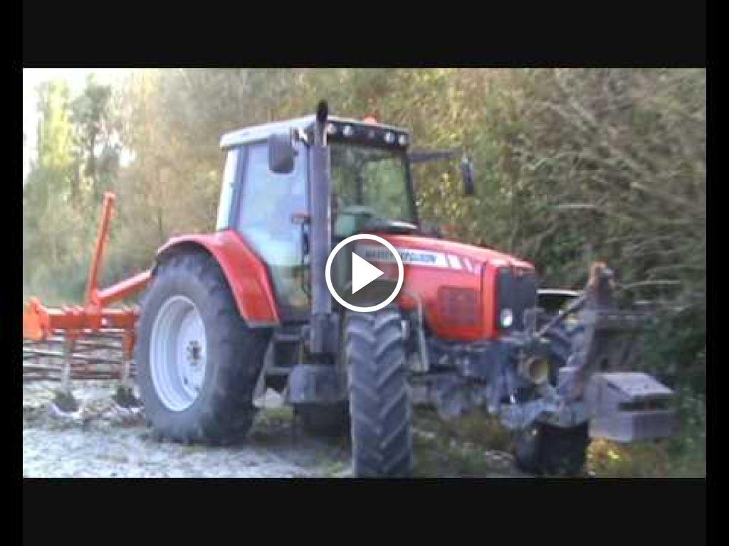 Vidéo Massey Ferguson 6480 Dynashift