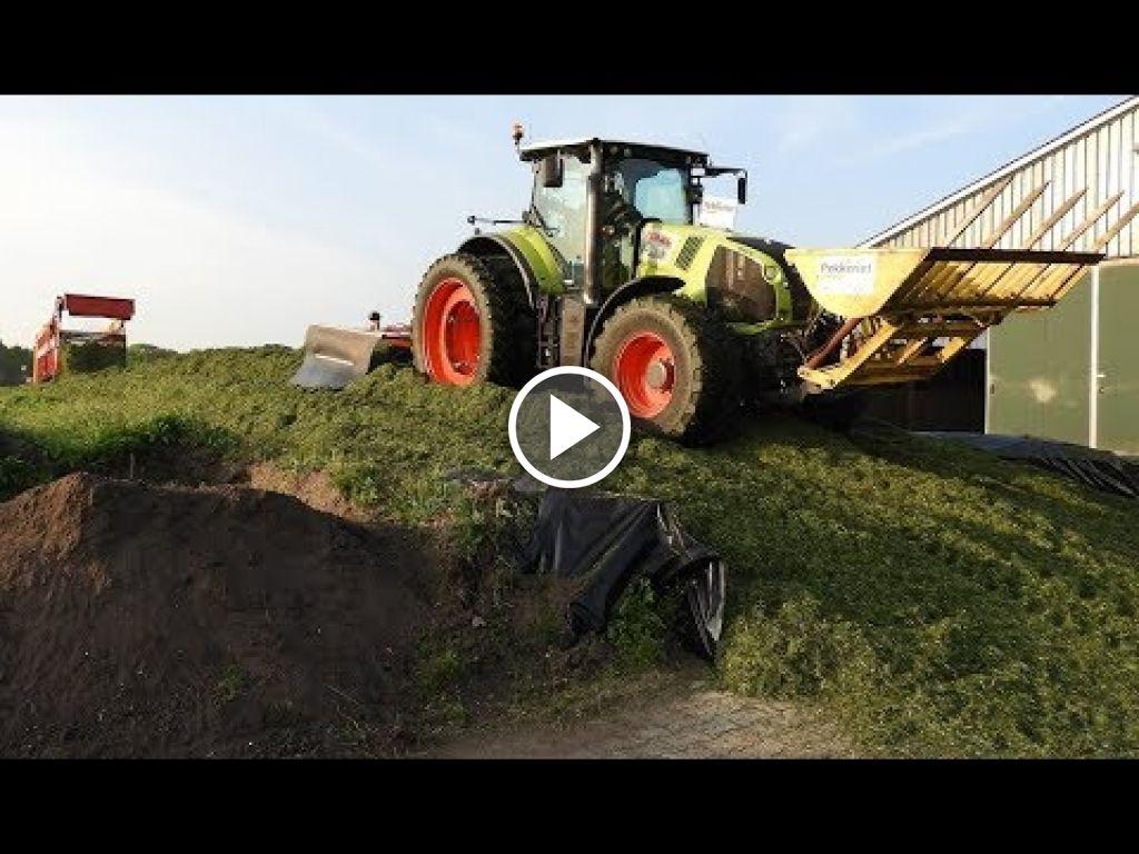 Video Claas Axion 830