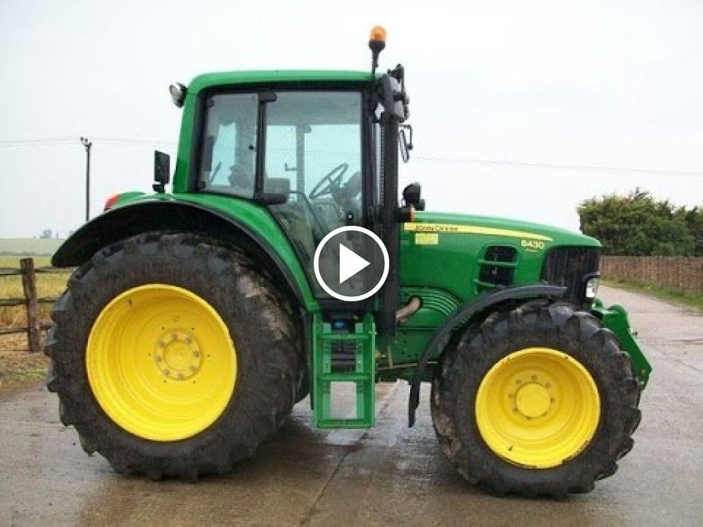 Wideo John Deere 6430