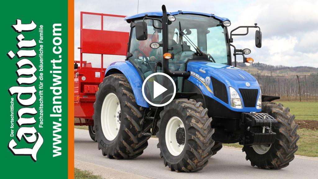 Video New Holland T 4.75 Powerstar