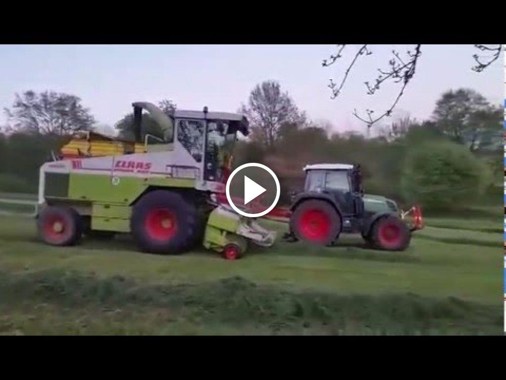 Video Claas Jaguar 695 Mega