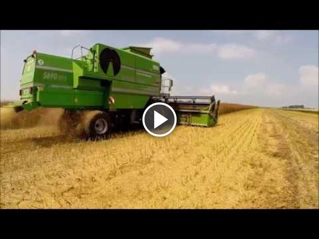 Video Deutz-Fahr Maaidorsers
