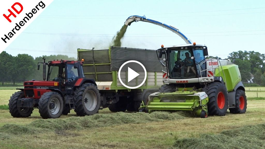 Video Claas Jaguar 950