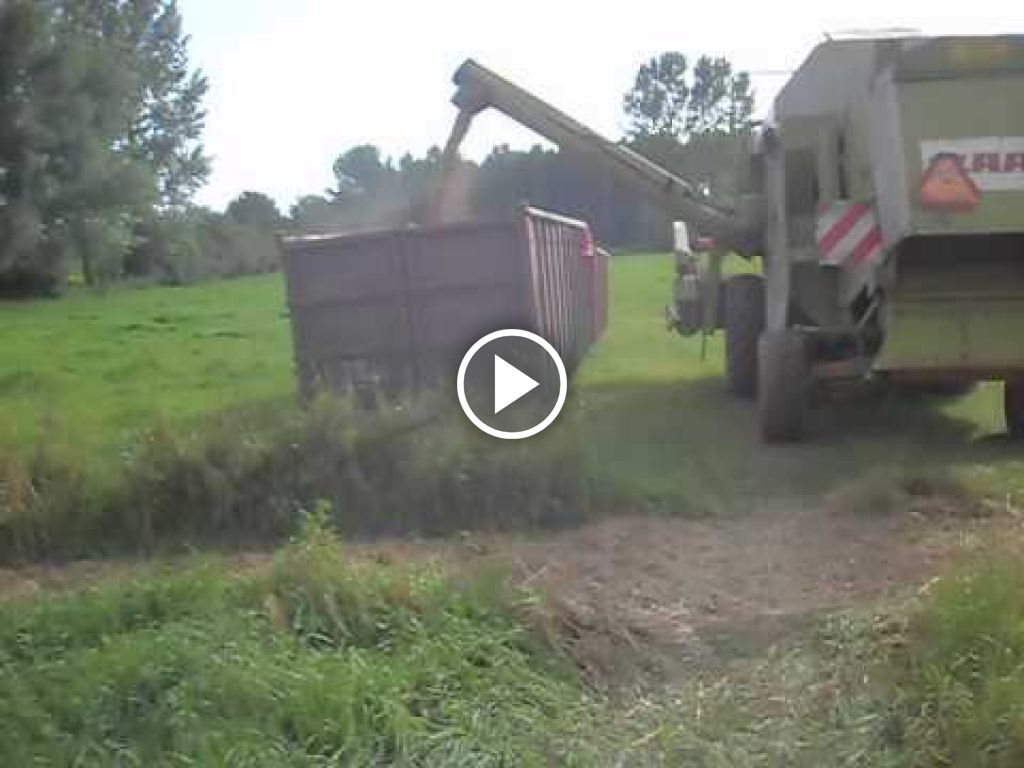 Video Claas Dominator 76