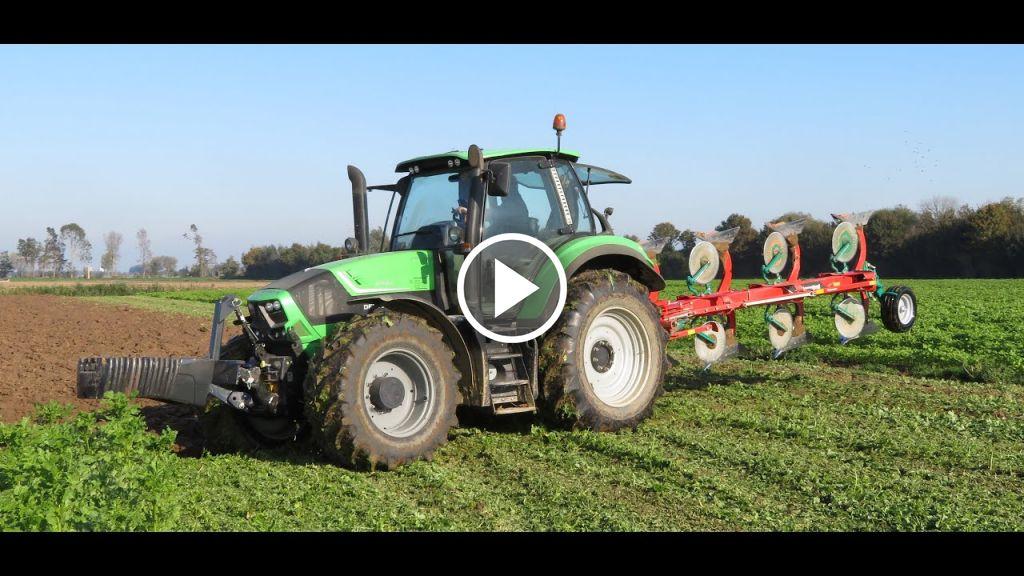 Video Deutz-Fahr Agrotron 6190