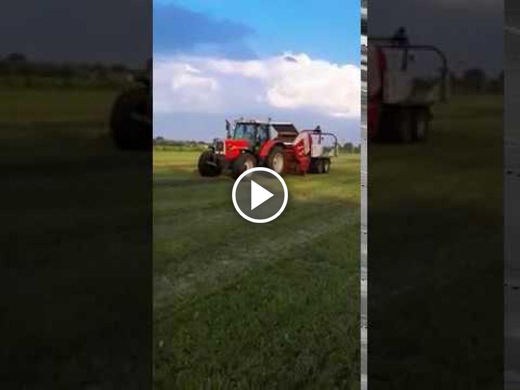 Vidéo Massey Ferguson 8120