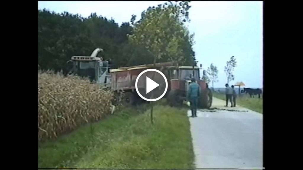 Video Claas Jaguar 695