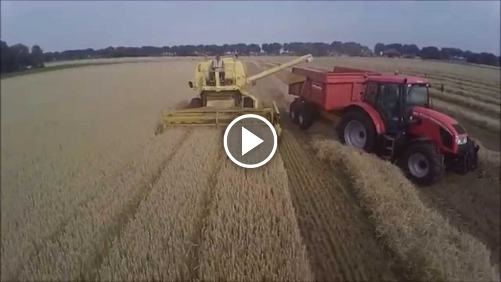 Video New Holland Clayson M 140