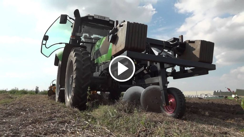 Video Deutz-Fahr Agrotron TTV 610