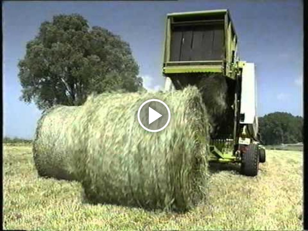 Video Claas Balenpers
