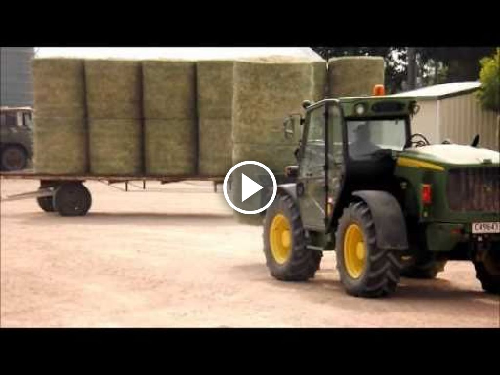 Video John Deere Telescooplader