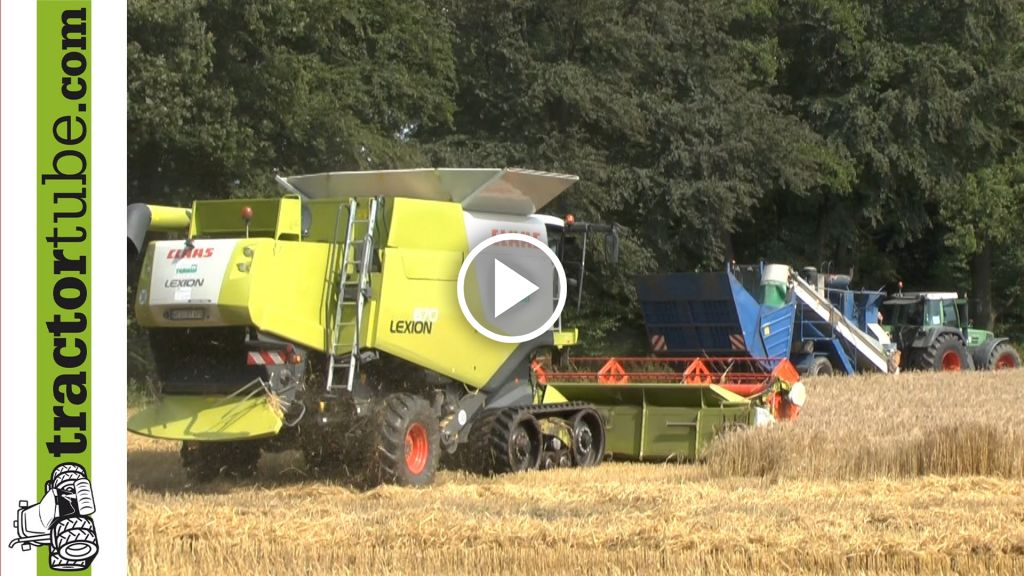 Video Claas Lexion 670