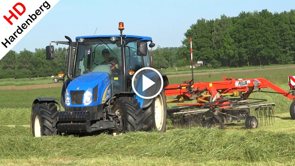 Video New Holland T 5050