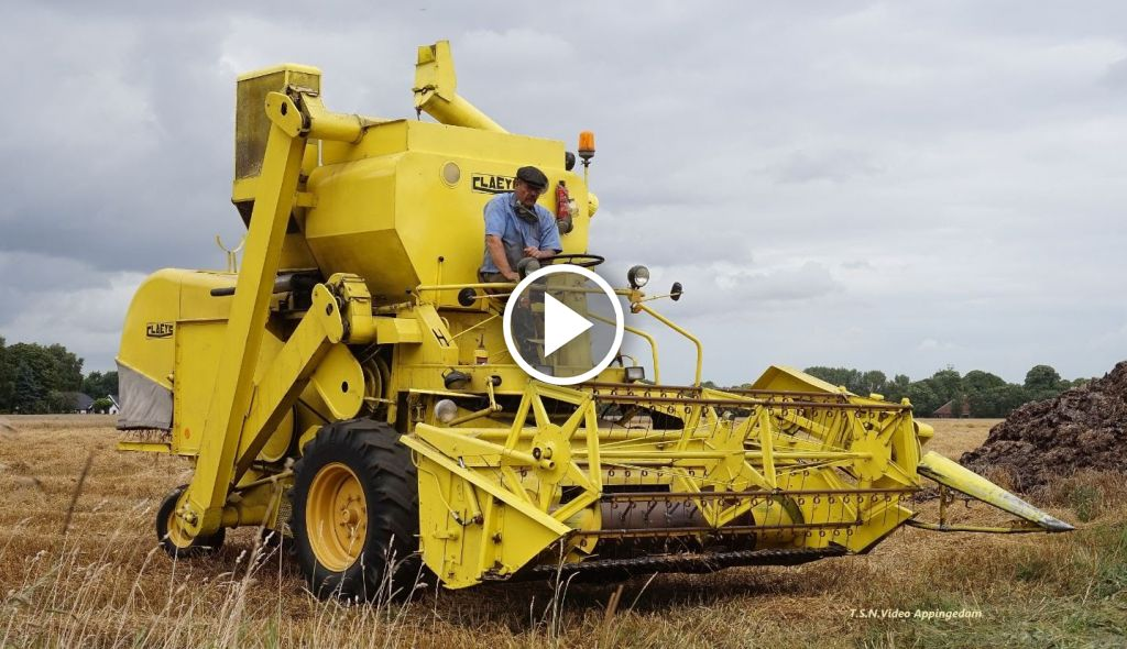 Video New Holland Clayson 133