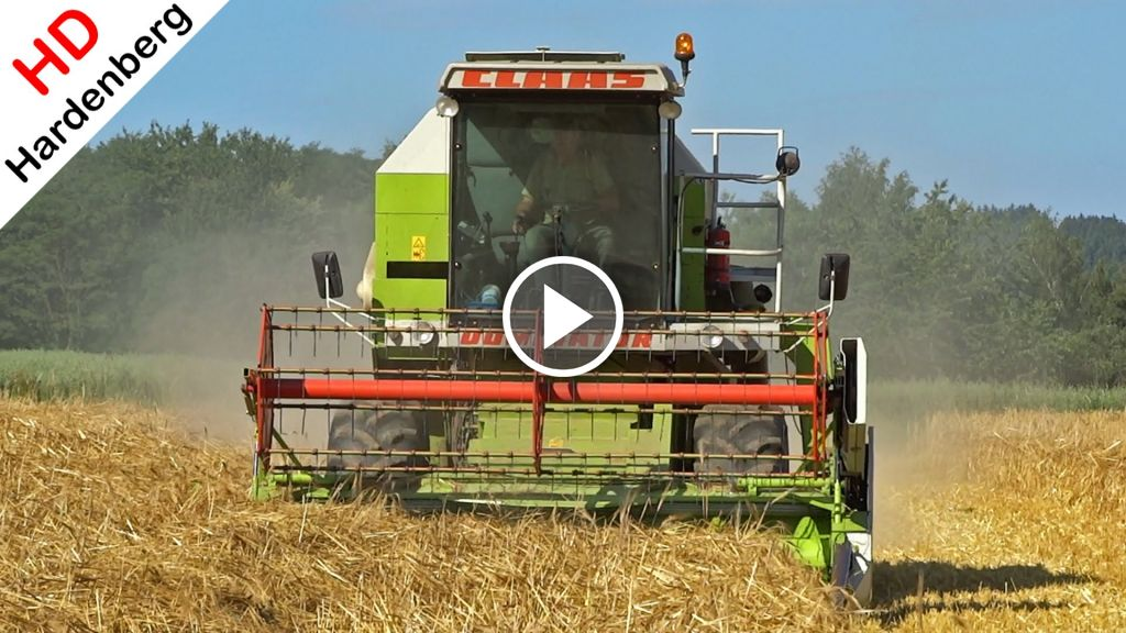 Video Claas Dominator 68s