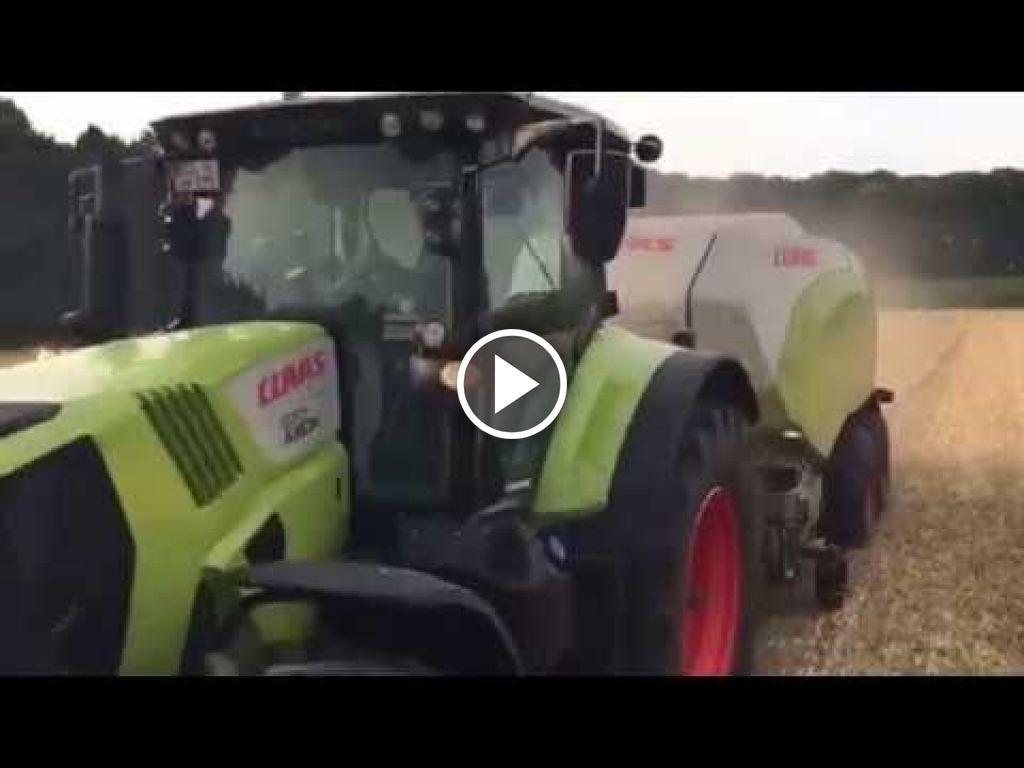 Video Claas Axion 870